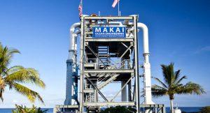 Wasserkraft durch Meereswärmekraftwerk