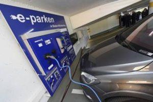 e-parking system im parkhaus