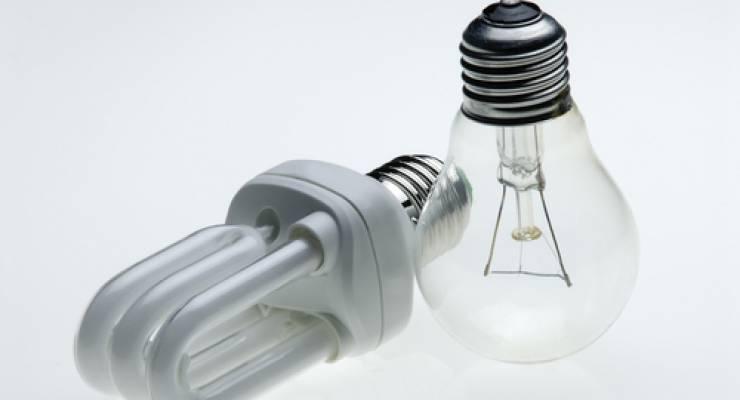 Energieeffizienz Sparlampe
