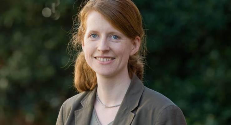 Annette Bohland, Filialleiterin der Freiburger GLS Bank-Niederlassung