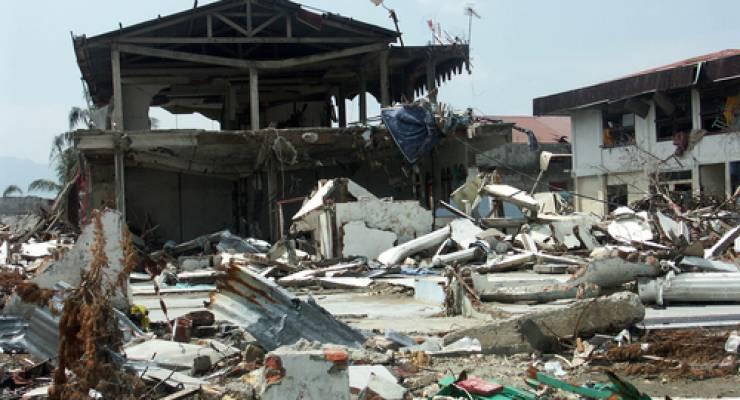 Katastrophen machen Menschen durch