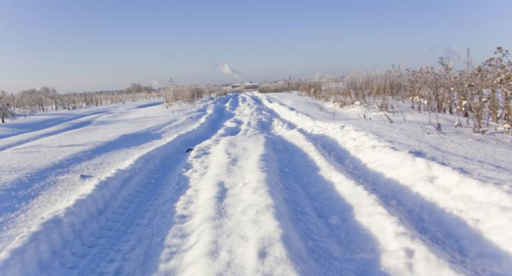 Eisfreie Straßen im Winter mit Solarenergie
