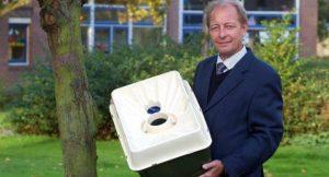 Pieter Hoff mit seiner Waterboxx
