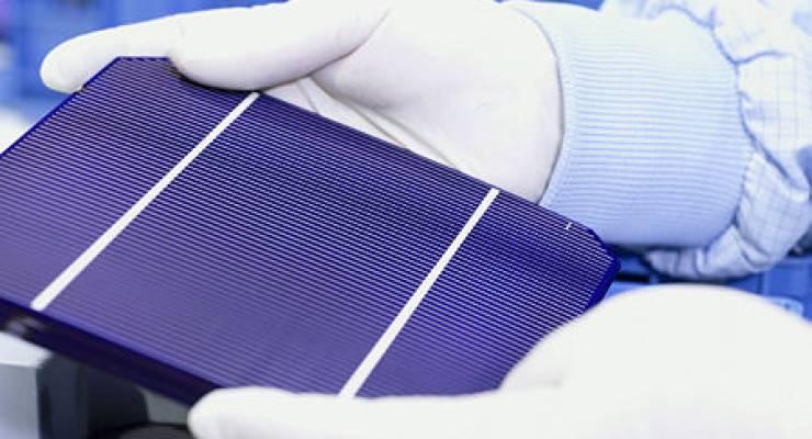 Solarzellenproduktion