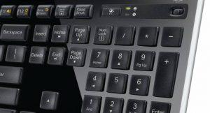 Solarbetriebene kabellose Tastatur Logigech K750