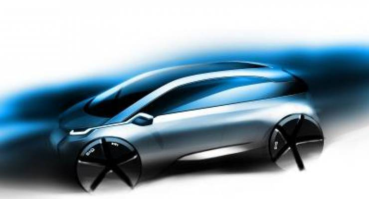 BMW Group Megacity Vehicle Design Sketch