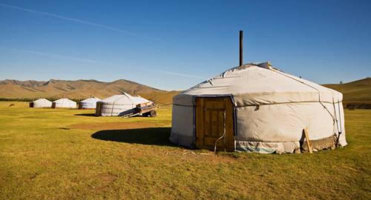 Mongolische Ger; Foto: shutterstock