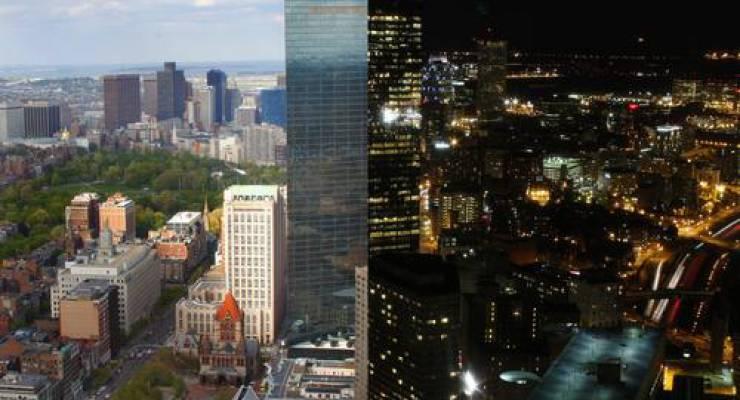 Stadt bei Tag und Nach; Foto: shutterstock