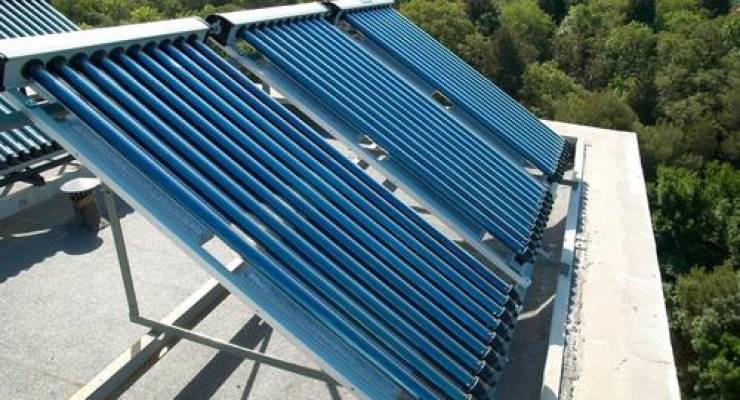 Solarkollektoren; Foto: shutterstock