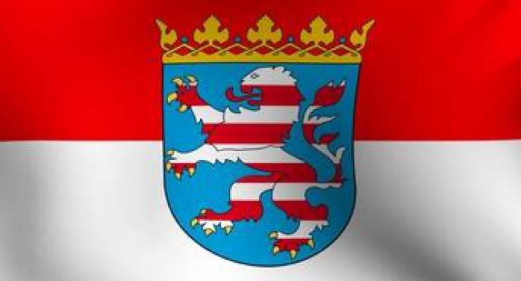 Hessische Flagge; Bild: shutterstock