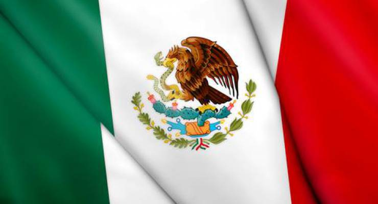 Mexikanische Flagge; Bild: shutterstock