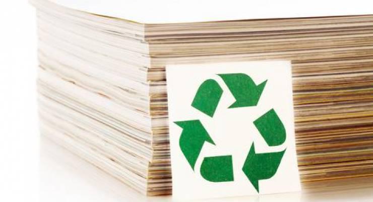 Recycling-Papier; Foto: shutterstock