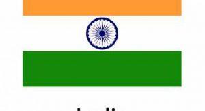 Indische Flagge; Bild: shutterstock