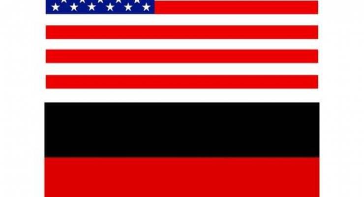 Amerikanische und deutsche Flagge; Bild: shutterstock