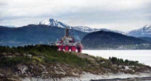 Olbohrinsel in Norwegen; Foto: shutterstock