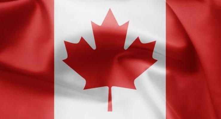 Kanadische Flagge; Foto: shutterstock
