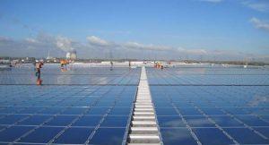 Drittgrößte Solarstrom-Dachanlage der Welt; Foto: juwi