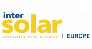 Logo der Intersolar Europe 2011