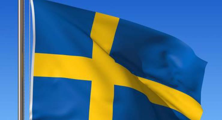Schwedische Flagge; Foto: shutterstock