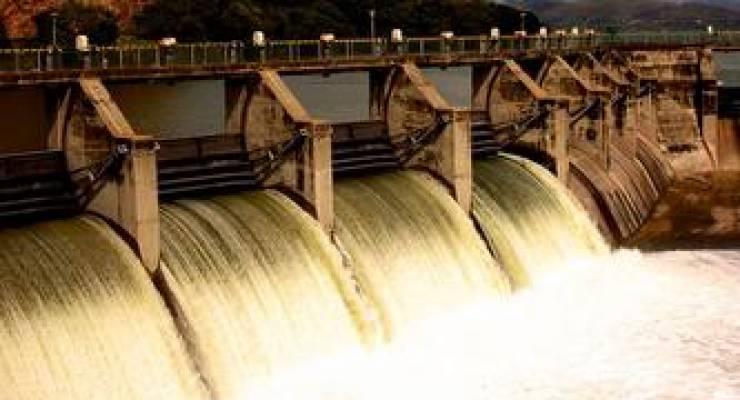 Wasserkraftwerk; Foto: shutterstock