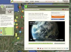Startseite von www.savemynature.com