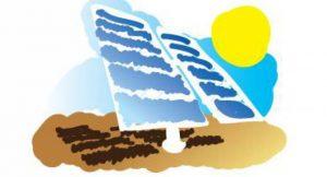 PV-Anlage in Wüste; Bild: shutterstock