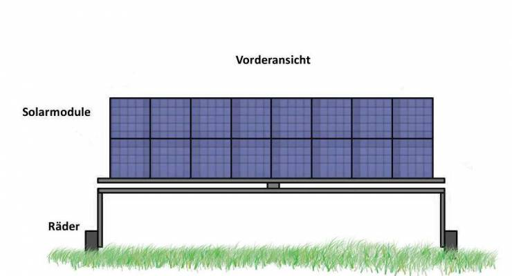 SolArod Mobile; SolArod Vertical Photovoltaic Systemes i.G.