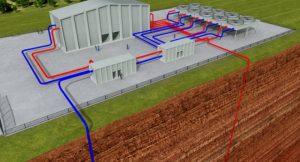 Tiefengeothermieanlage; Bild: shutterstock