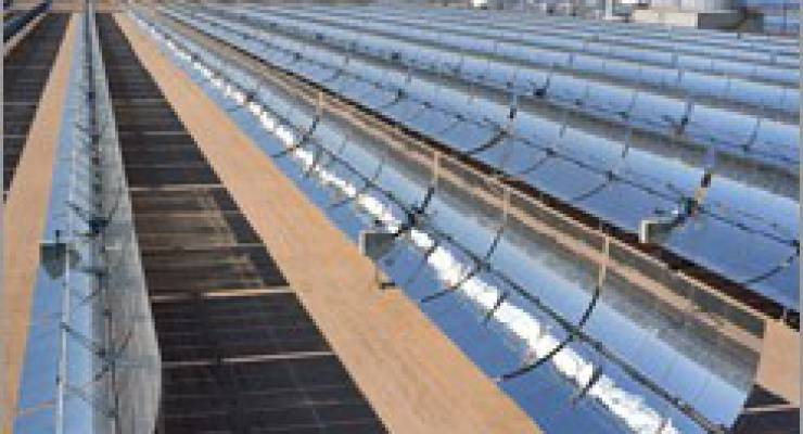 Quelle: Wikimedia: United States Department of Energy: http://www.nrel.gov/solar/parabolic_trough.html