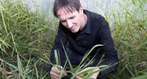 Dr. Martin Buchholz von der TU Berlin entwickelt Pflanzenheizung als Alternative zur Ölheizung; Foto: © TU-Pressestelle/Ruta