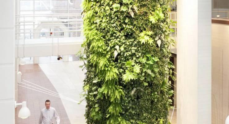 Vertikaler Garten; Foto: Green Fortune