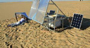 Solar Sinter; Foto: Markus Kayser