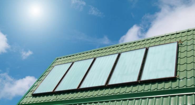 Solarkollektro; Foto: shutterstock