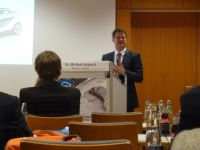 Dr. Michael Hajesch, von project i, Innovationsprojekte E-Mobilität der BMW Group; Foto: Corinna Lang