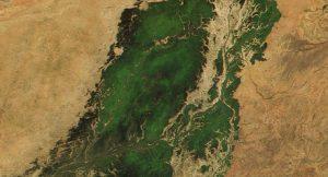 Nigerdelta; Foto: Jacques Descloitres, MODIS Land Rapid Response Team, NASA/GSFC (Wiki Commons)