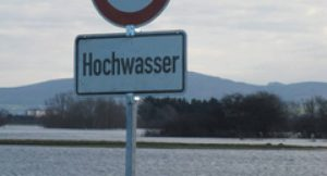 Hichwasser; Foto: Andrea H. (aboutpixel)