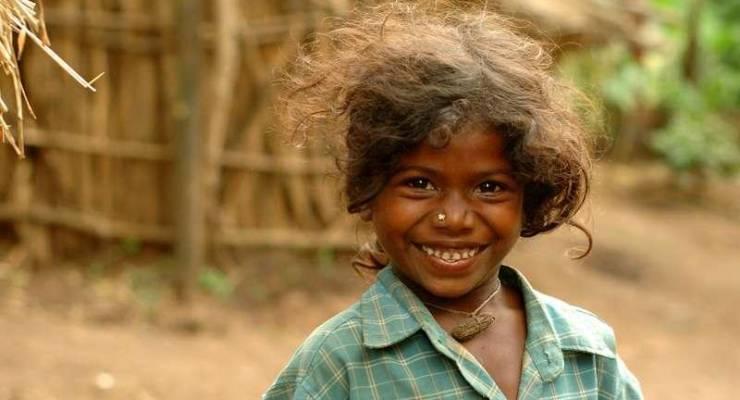 Soliga-Mädchen; Foto: © Kalyan Varma/Survival