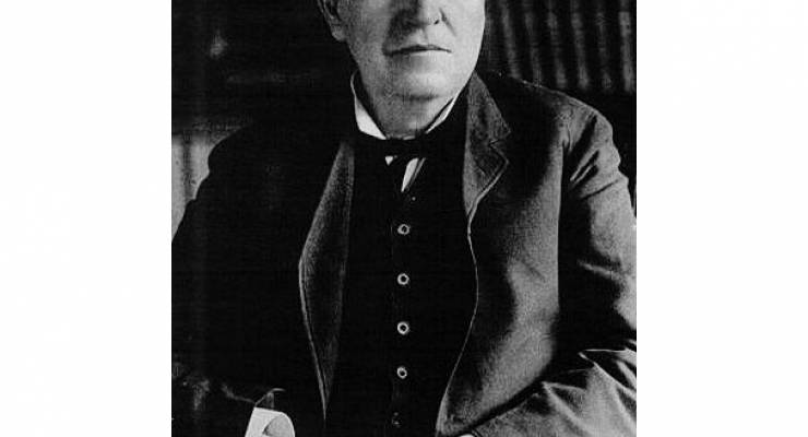 Thomas Alva Edison: Bild: Wiki Commons