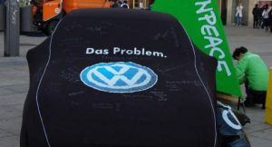 Greenpeace-Aktion gegen VW