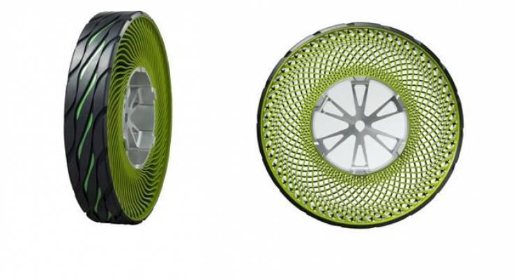 Konzeptreifen ohne Luftbefüllung von Bridgestone