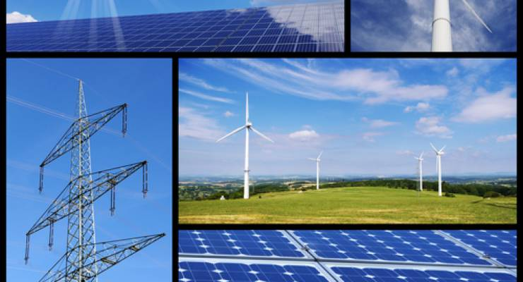 Erneuerbare Energien; Bild: shutterstock