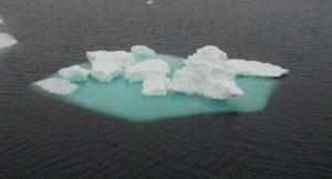 Eisschollen in der Arktis