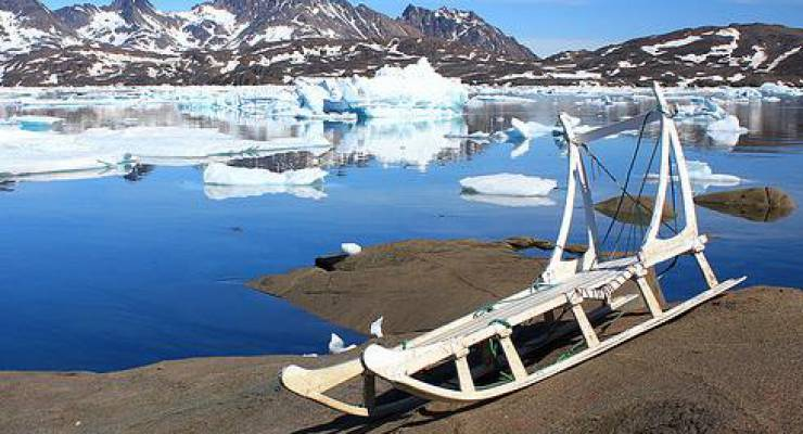 Grönland Eisschmelze