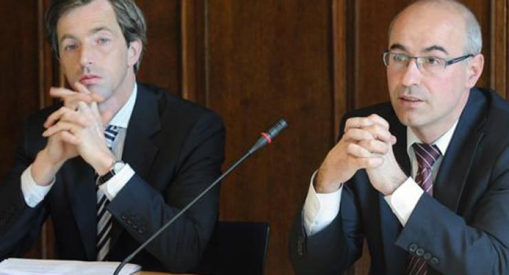 Prof. Dr. Roman Inderst (links) und Prof. Achim Wambach, Mitglieder des Wissenschaftlichen Beirats