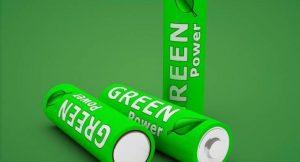 Batterie für Ökostrom