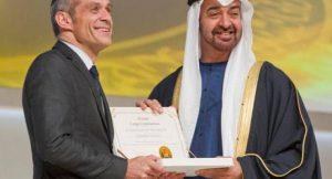 Zayed Future Energy Prize 2012