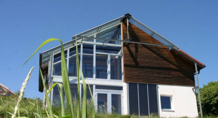 Haus Im Gewächshaus bio solar haus umweltfreundlich und energieeffizient