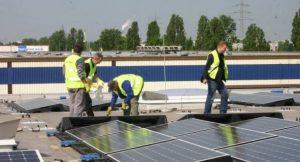 Solaranlage Berliner Großmarkt