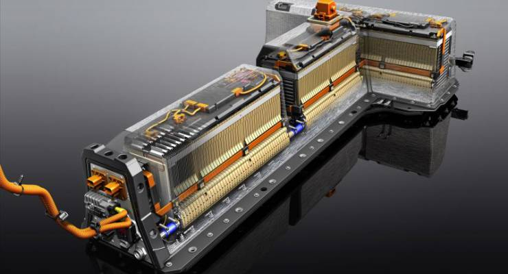 Chevrolet Volt bisherige 16-kWh Lithium-Ionen-Batterie