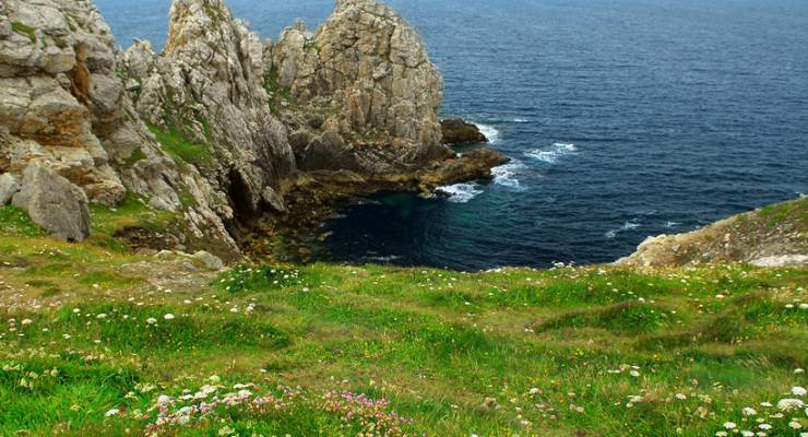 Atlantikküste der Bretagne